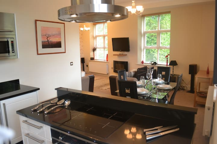Luxury 2 bed 2 bath duplex apartment - Saddleworth - Delph - Daire