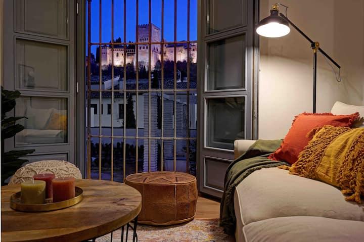 Encanto Sur Alhambra / Apto 1 dormitorio con wifi
