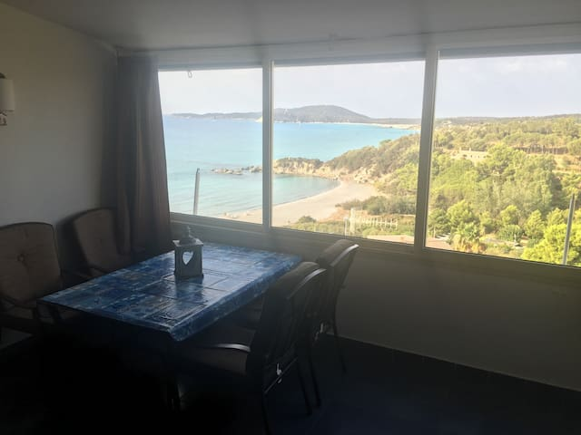 Villasimius near the beach!sea view - Villasimius - Appartamento