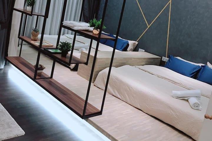 KLCC View!! 1-6 pax suites! 5mins to IKEA Cheras!
