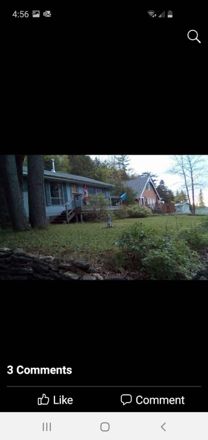 Water-View Manitoulin Island Weekly Cottage Rental
