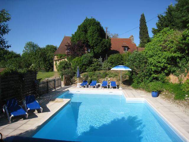 Verwarmd privé zwembad (5x10m)