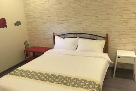 台北遇見2-3  倫敦2人套房(有窗)(獨立衛浴) - Songshan District - Apartamento