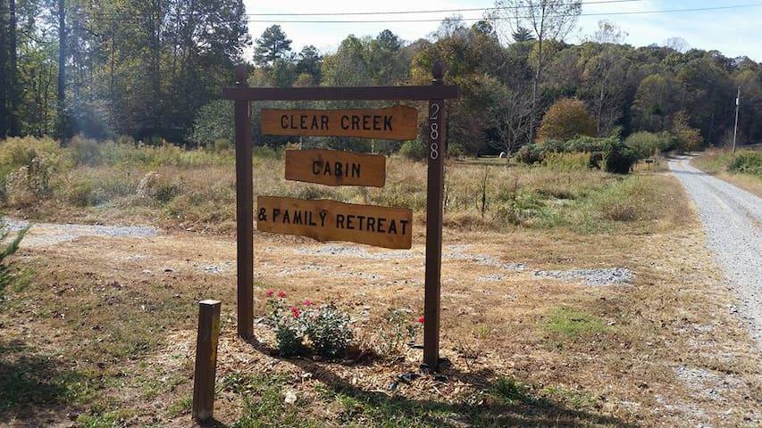 Clear Creek Cabin - Ellijay - Casa