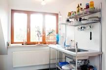 Küche mit workbench