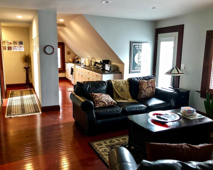 Your New Haven Aerie, a private floor of comfort