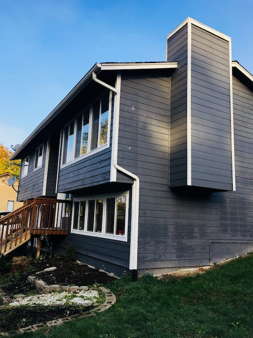 Four bedroom split level home. Completely renovated.