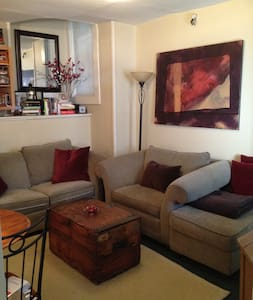 Private & Charming 1BR Apt - R Hill - San Francisco - Apartment
