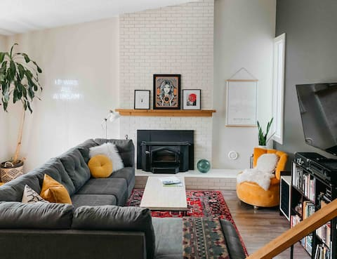 Mid-Century home boho style in Port Hardy