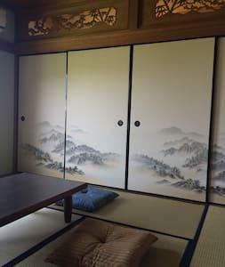 こんぴらハウス   和室10畳(禁煙)Japanese Room (No-smoking)