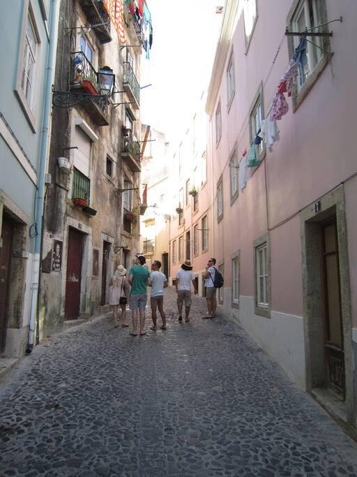 Vous êtes à 7min à pied du Château São Jorge