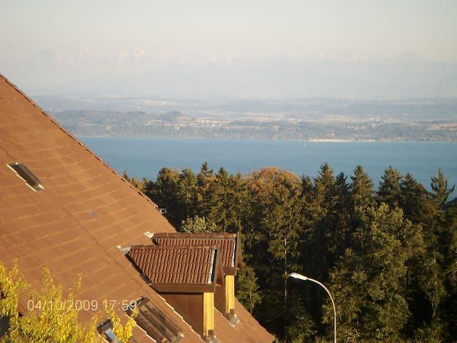 21/2 Zimmer Gartenpl See Alpenblick - Rochefort - Apartment