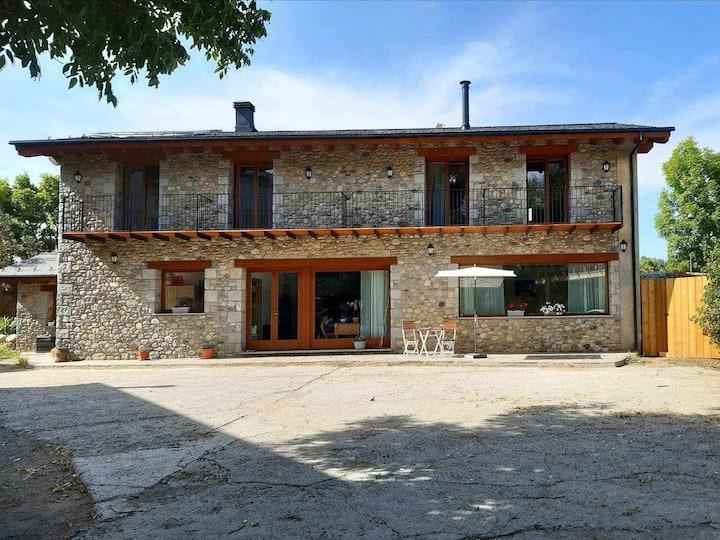 Habitación doble con desayuno en Casa de Pagès Mas Po