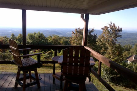 Mountain Cottage w/ Big views - The Bobcat Cabin - Stanardsville - Haus