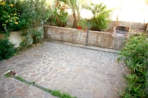 Terrace with barbecue area
