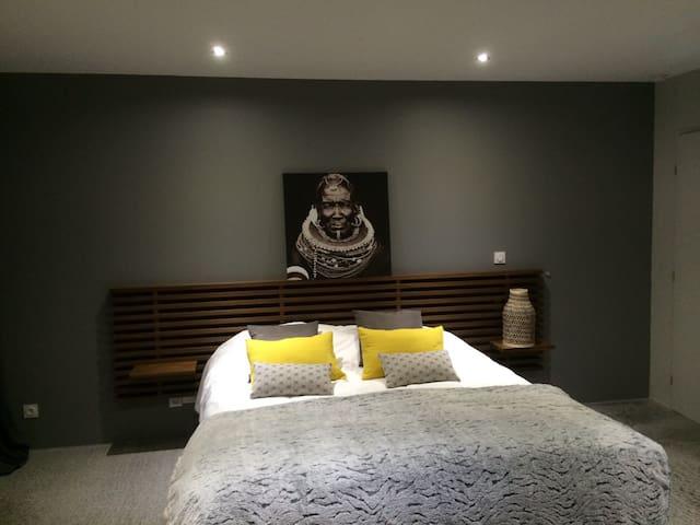 Chambre privée de charme 2pers - Aumont-Aubrac - Villa