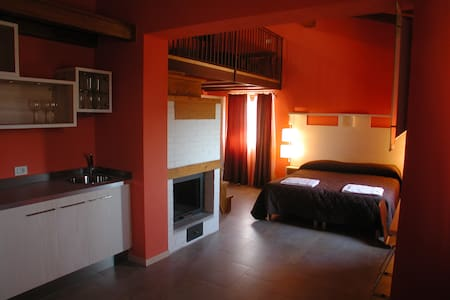 Junior Suite in agriturismo eco - Frattuccia - Bed & Breakfast
