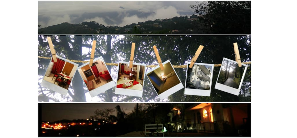 Dr Vijay's Home (((( 1BHK )))) - Mussoorie - Apartment