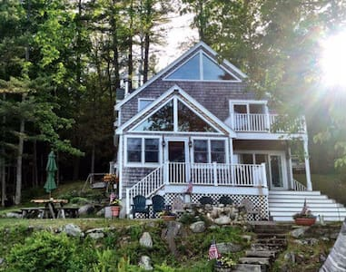 Cozy waterfront cabin Perkins Pond - Sunapee - Hus
