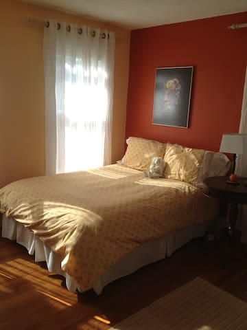 Guest Room in Inviting Artsy Home - Corning - บ้าน