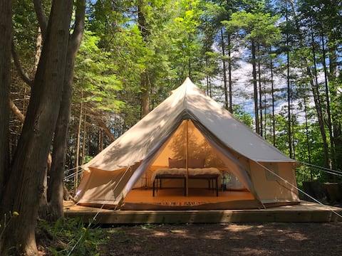 Tiki Hut Yurt- Manu