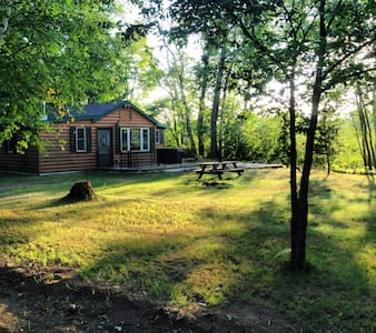 Cabin on Second Lake - Willow River
