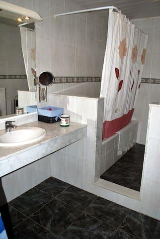 Baño particular