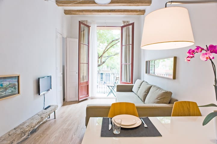 Apartamento soleado en la Plaza