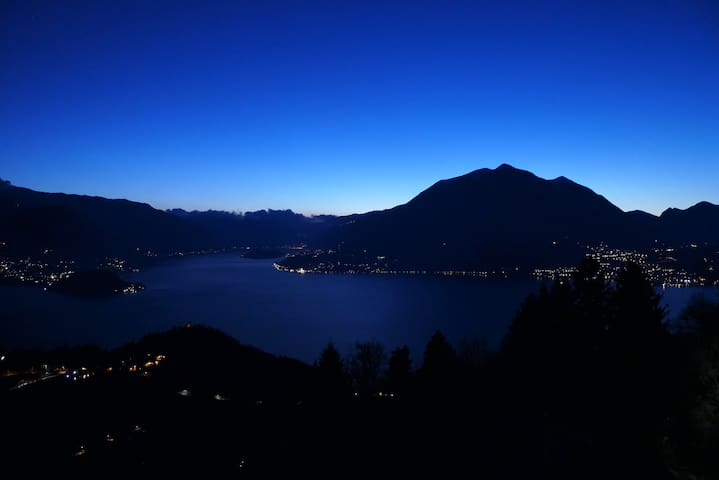 LAKE COMO LOOKOUT - stunning view and fancy spa