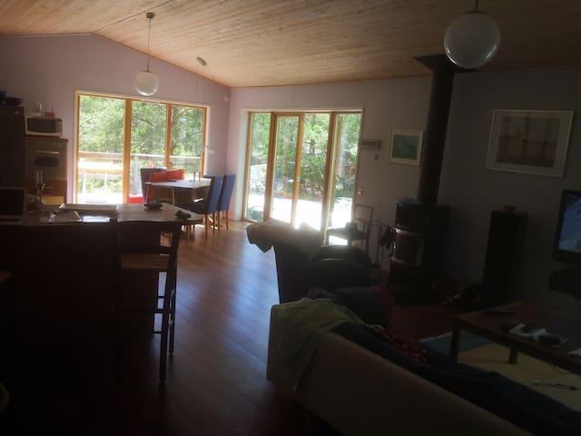 modernt arkitektritat hus  - Ingarö - Casa