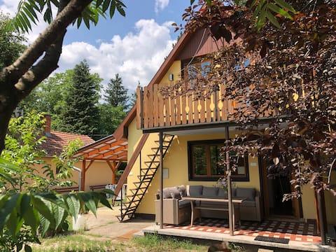 Luxe vakantiehuis in vakantiepark aan zwemmeer