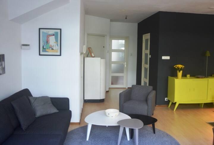Central apartment(garden + 2 bikes)