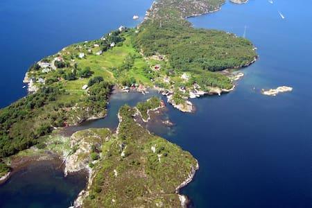 Ypsøy, idyllic, peaceful, car free - Rossland - 树屋