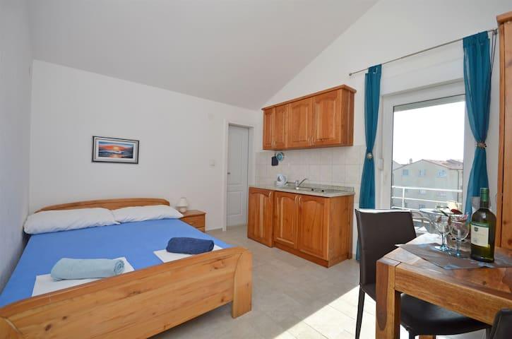 Studio Apartment, in Vodice, Balcony