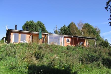 8 ps  summerhouse with great view - Fårevejle - Blockhütte