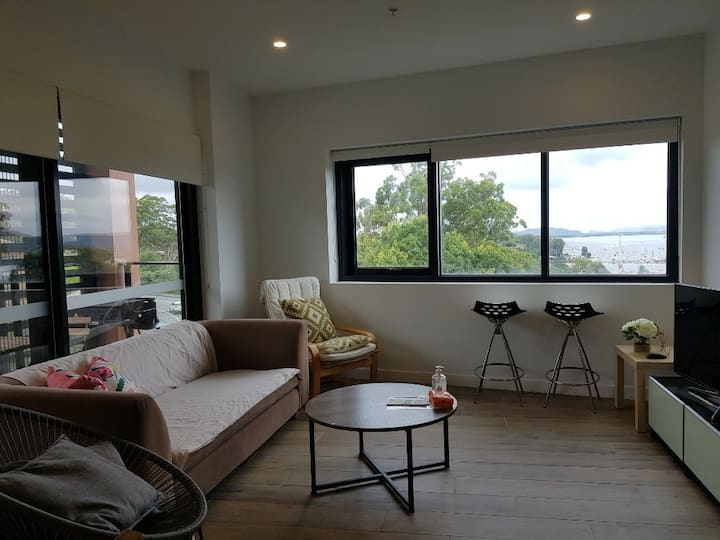 brand new water view apartment