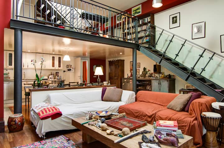 MIlano In a charming Loft/ Room 2