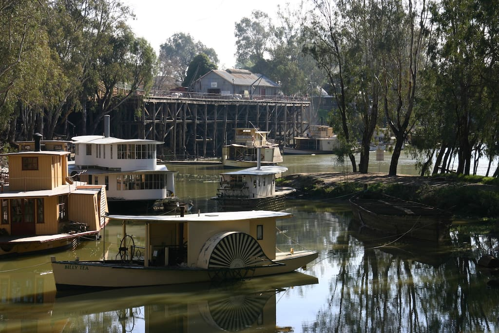 Echuca Port and Paddlesteamers