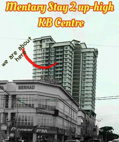 Mentary Stay 2 Up-high KB Centre - Kota Bharu - Appartement