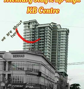 Mentary Stay 2 Up-high KB Centre - Kota Bharu - Apartment