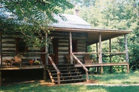Unique Log Cabin in Private Glen! - Lexington