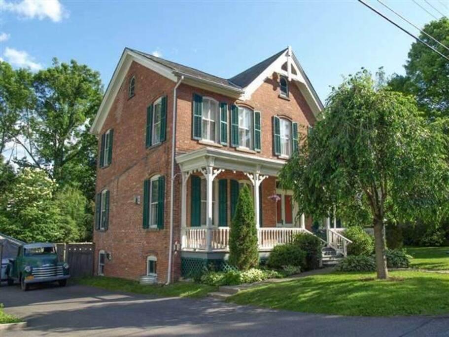 Beautifully restored brick victorian built in 1874.