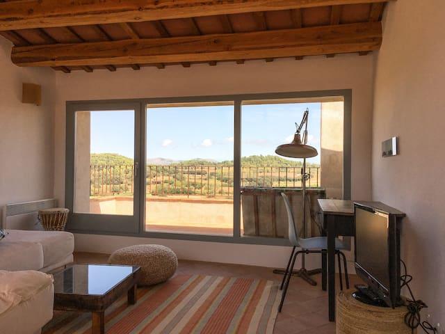 Encantadora casa con vistas en el Baix Empordà