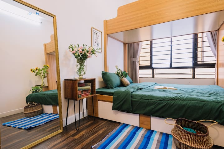 Piglet homestay No.6- Family room for 3 guests