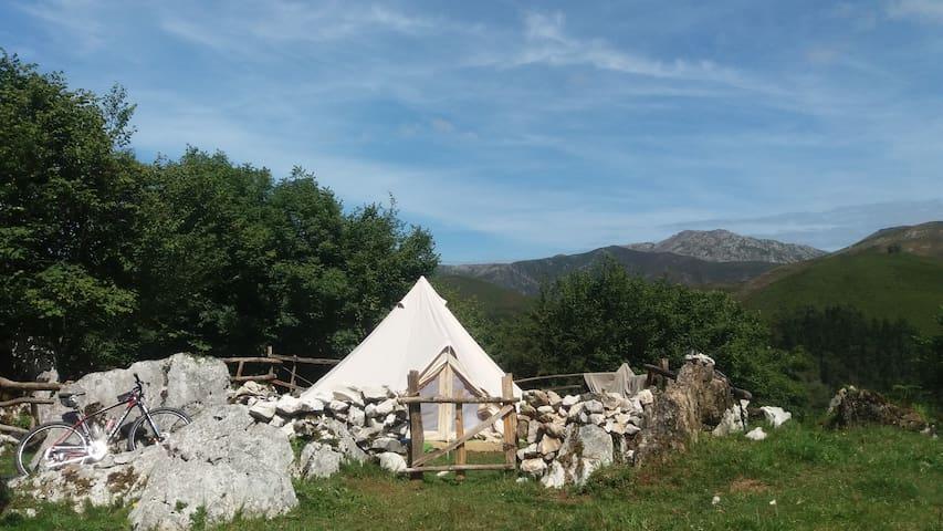 Bell Tent in the Picos de Europa - Benia de Onís - Tält