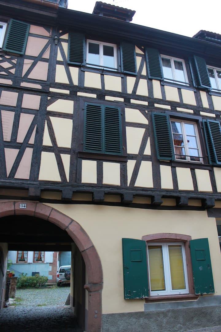 Downtown Barr, Bas-Rhin, France