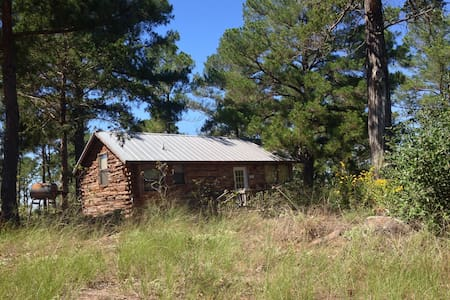 9E Ranch Eagles Nest Cabin, Bastrop - Hytte