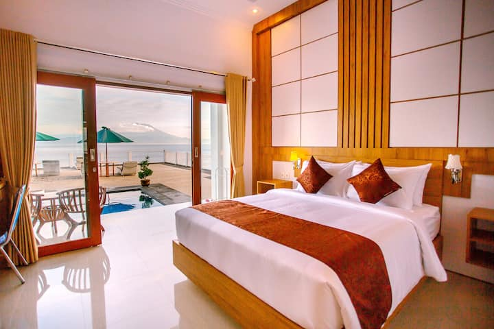 Wonderful Ocean View at Samuh Ocean Sunset Hotel