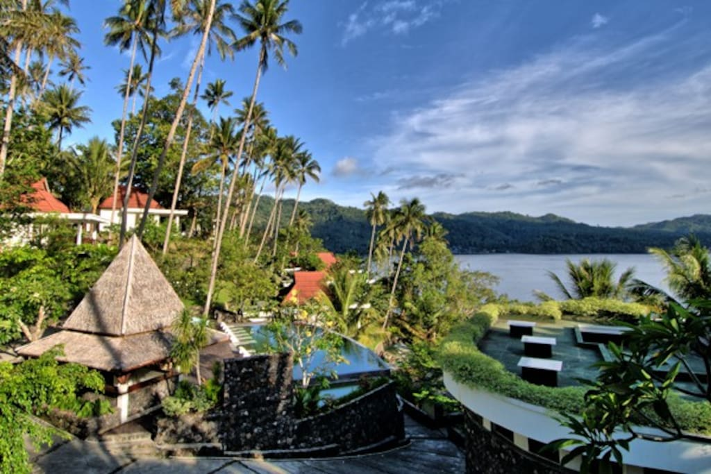 The Resort, Overlooking The Lembeh Straits