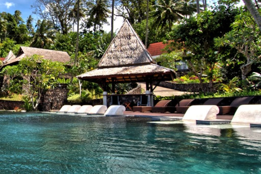 Swimming Pool, Dabirahe Closest To Nature in Lembeh Straits